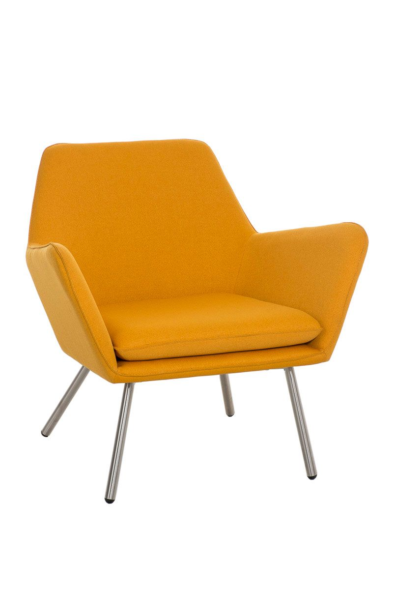 Sessel Coctailsessel Lounger - Adele - in trend Design in Gelb